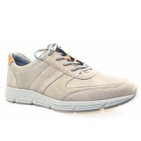 Waldläufer - Haslo grau/tabak H - Sneaker - grau/tabak