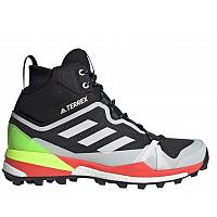adidas - Wanderschuh - core black/core white/signal green