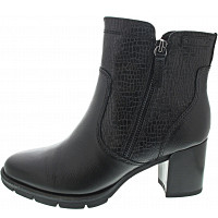 TAMARIS - Stiefelette - black struct