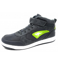 KANGAROOS - Kalley EVS - Klettschuh - steel grey/lime