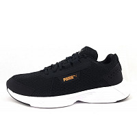 Puma - Space Runner - Sneaker - black-white