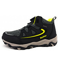 Richter - Stiefel - black/yellow