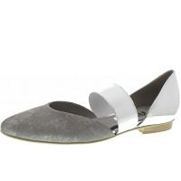 Gabor - Ballerina - grau-silber