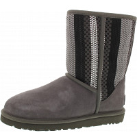 UGG - Classic Short Woven - Boots - chrc