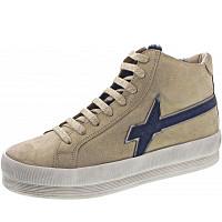 W6YZ - Sneaker - glitter-fur platino