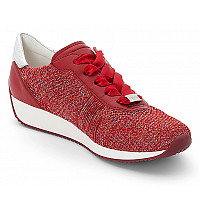 Ara - Sneaker - CANDY-ROT,ROT/SILBER