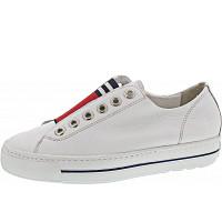 PAUL GREEN - Slipper - WHITE/RED