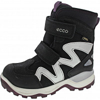 ECCO - Snow mountain - Klettstiefel - black/black/titanium