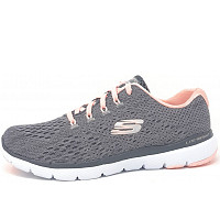 SKECHERS - Flex Appeal - Schnürer - CCPK grey