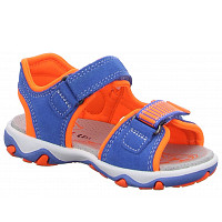 SUPERFIT - Sandalen Ki/Da/He SK \ MIKE 3. - Sandalen - BLAU/ORANGE