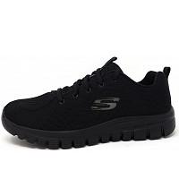 SKECHERS - Graceful - Sneaker - BBK black