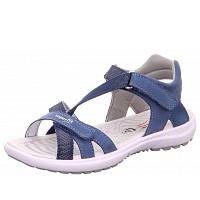 SUPERFIT - Sandalette - blau