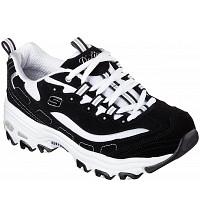 SKECHERS - Sneaker - black white