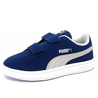 PUMA - Smash V2 Buck - Klettschuh - 0010 sea high/white