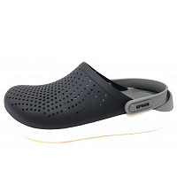 CROCS - Lite Ride Clog - Clogs - black/smoke
