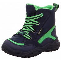 Superfit - Schuh Textil \ GLACIER - Stiefel - BLAU/GRÜN