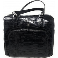 JETTE JOOP - Tasche - black shiny silber