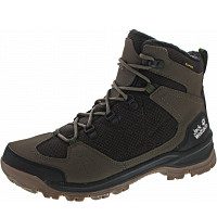JACK WOLFSKIN - Cold Terrain Texapore Mid - Wanderstiefel - coconut brown-black