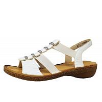 RIEKER - Sandale - 80 weiß