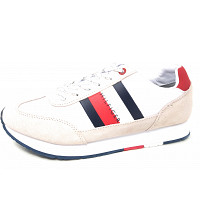 TOMMY HILFIGER - Corparate - Sneaker - white