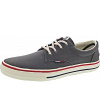 TOMMY HILFIGER - Textile Sneaker - Sneaker - steel grey