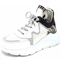 CETTI - Sneaker - sweet white zebra