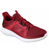 SKECHERS - Sneaker - red/ black