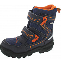 LURCHI - Kuni - Klettstiefel - atlantic orange