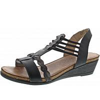 REMONTE - Sandalette - schwarz/schwarz-meta