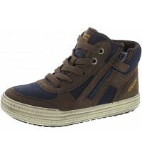 GEOX - Elvis - Sneaker - bronw-navy