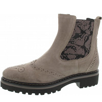 DONNA CAROLINA - Stiefelette - stone-fly taupe nori fang