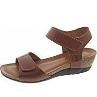 TAKEME - Sandalette - cuero/braun