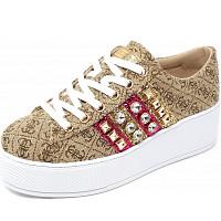 GUESS - Sneaker - beige braun
