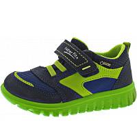 SUPERFIT - Sport7 Mini - Kletthalbschuh - blau-grün