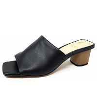 LA STRADA - la strada mule on heel - Pantolette - 1001 - black