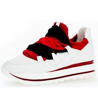 GABOR - Premium - Sneaker - weiss marine rot