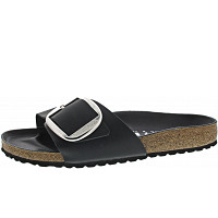 Birkenstock - Madrid Big Buckle FL - Birkenstock - Black HEX Black