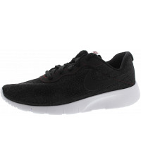NIKE - Tanjun SE (GS) - Sneaker - black-white-ream red
