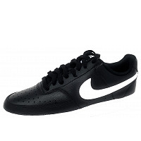 NIKE - Court Vision Low - Sneaker - black/white