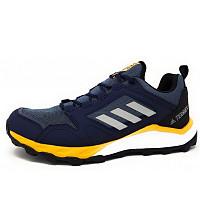 adidas - Terrex Agravic TR - sportlicher Schnürer - blau-gelb