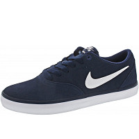 NIKE - SB Check Solar - Sneaker - midnight navy - wht