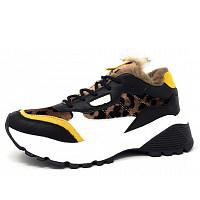 S.OLIVER - Sneaker - 089 black leo