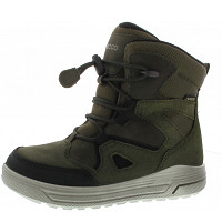 ECCO - Urban Snowboarder - Schnürstiefel - BLACK/GRAPE LEAF