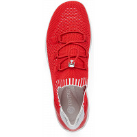 REMONTE - Slipper - flamme/rosso/silver