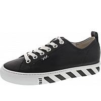 PAUL GREEN - Sneaker - black-white