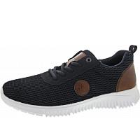 Rieker - Sneaker - navy/pazifik/amarett