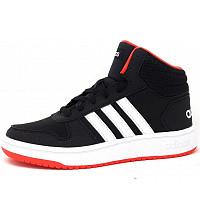 ADIDAS - Hoops Mid - Sportschuh - core black