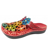 LAURA VITA - Sandale - rouge