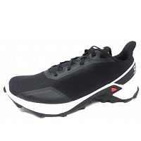 SALOMON - Alphacross - Trekkingschuh - black/ white