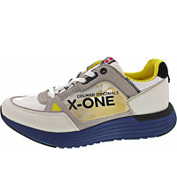 COLMAR - Sneaker - white-blue-yellow